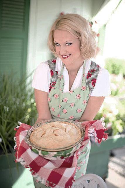 Apple pie woman