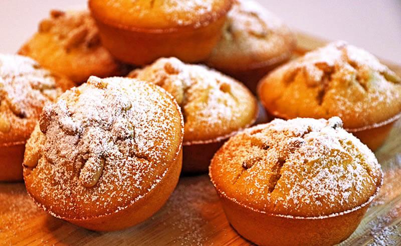 Piñon muffins