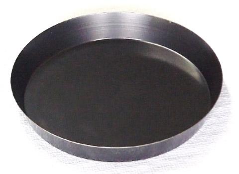 Slanted pie pan