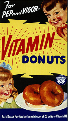 Vitamin Doughnuts