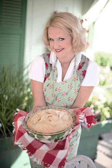 Apple pie woman